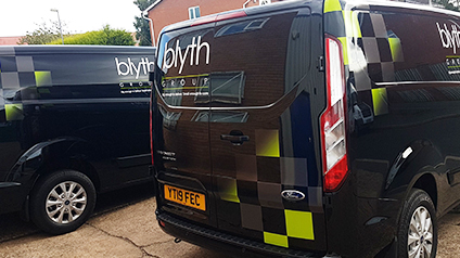 commercial van livery
